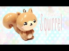 Cute Squirrel Tutorial for Polymer Clay