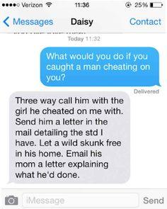 Girlfriends who cheat