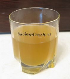 Chrysanthemum Drink | The Chinese Soup Lady & Chinese Soup Recipes