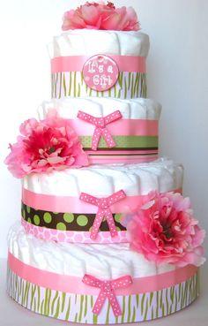 diaper cakes haha