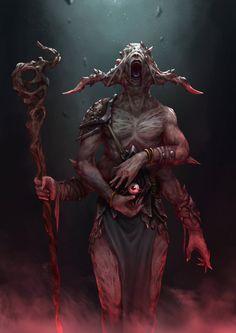Blind Priest by plutus0519