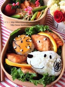 Snoopy Bento スヌーピーのキャラベン - Little Miss Bento