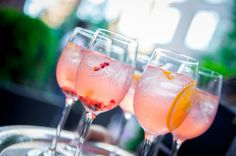 We also have a light alternative - White Sangria with a touch of cassis.