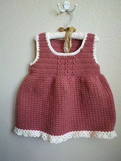 400878acc43e Ravelry  Starting Out Crochet Baby Dress pattern by marianna mel ...