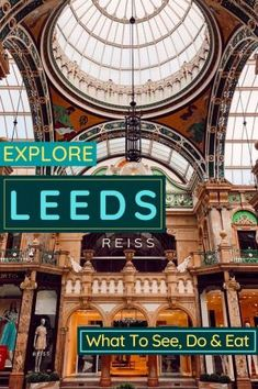 Things To Do In Leeds - A Nutshell Guide On What To See, Eat and Photograph! - My Life Long Holiday Leeds Dock, Leeds Art Gallery, Harewood House, Stuff To Do, Things To Do, European City Breaks, Long Holiday, Uk Holidays, Free Museums