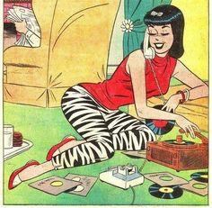 vintage pin up comics veronica archie comics Archie Comics, Archie Comic Books, Vintage Cartoon, Vintage Comics, Archie Betty And Veronica, Dan Decarlo, Creation Art, Ligne Claire, Film D'animation