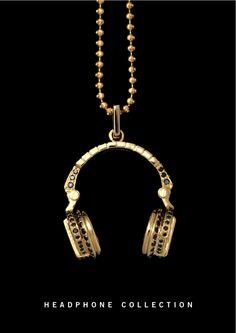 ROCK CANDY's Gold & Diamond Headphone Collection. Seguro que a @Almudena Dorado le gusta...
