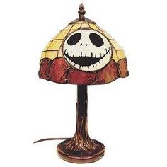 ONLY 2 LEFT-NEW Disney Nightmare Before Christmas Tiffany Lamp-Free S/H