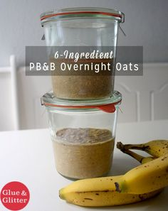 I'm jumping on the overnight oats bandwagon with a six-ingredient recipe that's so, so decadent. It tastes like oatmeal cookies, y'all.