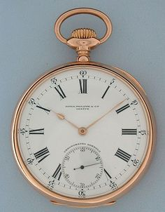 Antique Pocket Watches - Patek Philippe Chronometro Gondolo #6074 Patek Philippe Chronometro Gondolo