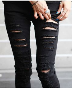 ripped jeans for women tumblr - Google Search