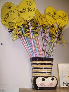 Classroom Decor--i like the idea of having a little pencil or something for birthdays