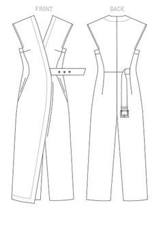 Выкройки Vogue Sewing Patterns, Clothing Patterns, Dress Patterns, Fashion Patterns, Vintage Vogue Patterns, Pattern Sewing, Fashion Sewing, Diy Fashion, Ideias Fashion