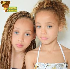Ilyza - 8 Years & Djanoa - 6 Years • Surinamese & Dutch ♥️♥️