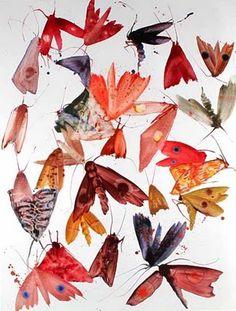 Allyson Reynolds moth painting