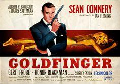 film affiche cinéma | Une voiture, une miniature : Aston Martin DB5 de James Bond | Filrouge ...