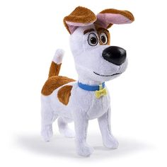 This dog from Spin Master is perfect for cuddling and kids ages 4 years and up. The Secret Life of Pets - 6 Max Plush Buddy Batterie Samsung, Barbie Chelsea Doll, Pet Max, Pets Movie, Secret Life Of Pets, Disney Plush, Electronic Toys, Beagle Dog, Pet Life