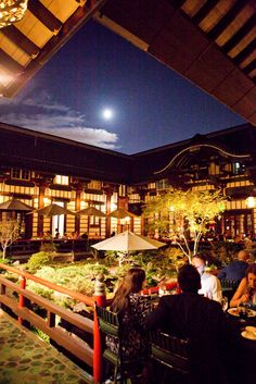 Yamashiro Hollywood - Japanese restaurant in the hills with stunning architecture and views of LA.