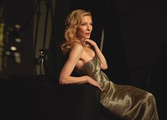Cate Blanchett for Armani Si by Antoine Passerat