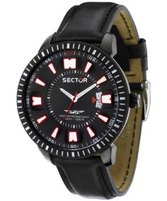 SECTOR 400 Marine Black Leather Strap, από 260€ μόνο 191€. Δείτε το εδώ: http://www.oroloi.gr/product_info.php?products_id=30906