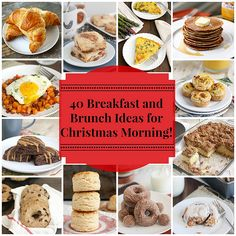 Tracey's Culinary Adventures: 40 Breakfast and Brunch Ideas for Christmas Morning