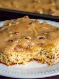 Butter Pecan Sheet Cake