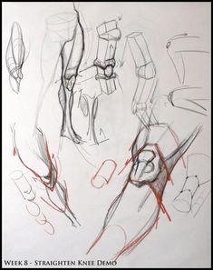 Karakalem Anatomi Model Çizimleri | Konya Resim Kursu