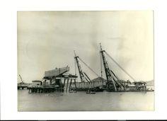 1972_construção do Porto de Tubarão_foto 1