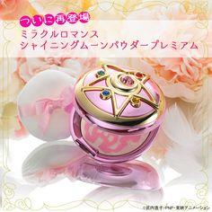 """sailor moon"" ""sailor moon merchandise"" ""sailor moon compact"" ""sailor moon toy"" ""sailor moon locket"" ""crystal star"" ""miracle romance"" makeup cosmetics anime japan ""face powder"" ""creer beaute"" 2015"