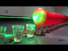 Laser Sets Off Firecracker Inside Balloon (Without Popping Balloon)