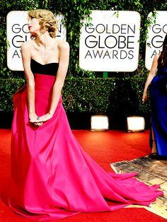 "taylorsuift: """"Taylor Swift attends the Golden Globe Awards 2014 "" """
