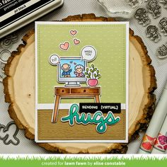 Lawn Fawn Intro: Virtual Friends, Tiny Friends, Reveal Wheel Rectangle Window Add-On & Reveal Wheel Templates: Rectangle + Virtual Friends - Lawn Fawn The Bear Family, Lawn Fawn Blog, Birthday Cheers, Snow Much Fun, Lawn Fawn Stamps, Rainbow Paper, Interactive Cards, Forest Friends, Cute Cards