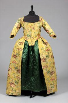 Robe à l'anglaise, 1770's