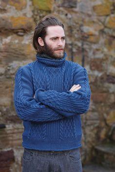 rowan // real men wear cableknit