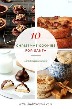 Looking for some amazing Christmas cookies? Discover what we think are the 10 Best Santa Cookie Recipes right here! #Christmas #ChristmasCookies #Santa Best Dessert Recipes, Sweet Desserts, Holiday Desserts, Candy Recipes, Cupcake Recipes, Holiday Recipes, Cookie Recipes, Delicious Desserts, Yummy Food