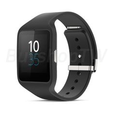 Sony SmartWatch 3 SWR50 Bluetooth IP68 Waterproof Android 1.6in Black #Sony