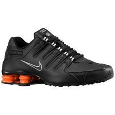 7abbfaabda5 Nike Shox NZ - Men s - Sport Inspired - Shoes - Black Black Orange