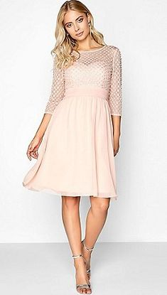 Little Mistress - Salmon dress