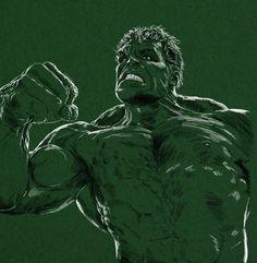 #Hulk #Fan #Art. (Hulk) By: Workofaart. (THE * 3 * STÅR * ÅWARD OF: AW YEAH, IT'S MAJOR ÅWESOMENESS!!!™)[THANK Ü 4 PINNING!!!<·><]<©>ÅÅÅ+(OB4E)   https://s-media-cache-ak0.pinimg.com/474x/a5/67/bd/a567bdf1e57ae42c537371533191dcb4.jpg
