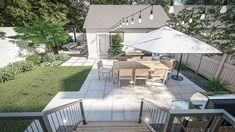 Our Yardzen backyard design plan...