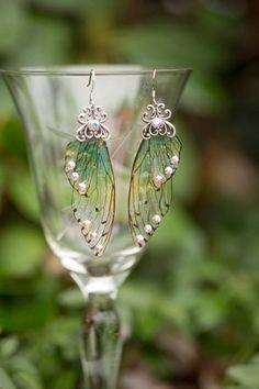Bricolage Fairy Tinker bell Angel Star Dangle Boucles d/'oreilles Bronze Tone Bijoux Cadeau