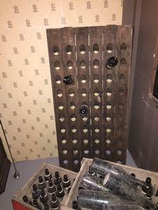 SDD4 Franse Pupitre | Wijnrek in hout