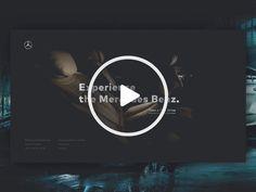 Mercedes Benz Microsite - Video by Jaromir Kveton