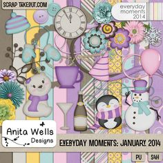 Everyday Moments: January 2014 by Anita W Designs