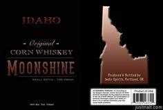 Indio Spirits - Idaho Moonshine