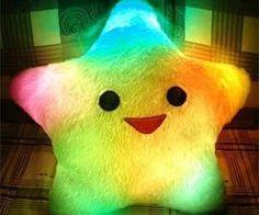 Light Up Star Pillow