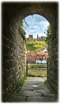 Through the Keyhole - Whitby by ~YorkshireSam on deviantART
