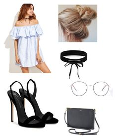 """""""-indy- // casual outfit"""" by indiravidya ❤ liked on Polyvore featuring Giuseppe Zanotti and Boohoo"""