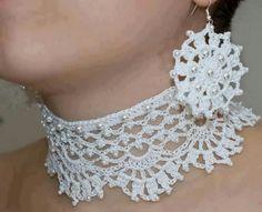 Crocheted jewelry