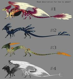 You guys voted, I hope you weren't lying. In any case, designing these was tons of fun! You can download the image for a bigger version. ANYWAY, this is how you adopt: 1. Let me know which one you ... Dark Creatures, Mythical Creatures Art, Mythological Creatures, Fantasy Creatures, Dragon 2, Fantasy Dragon, Fantasy Warrior, Fantasy Art, Wings Of Fire Dragons